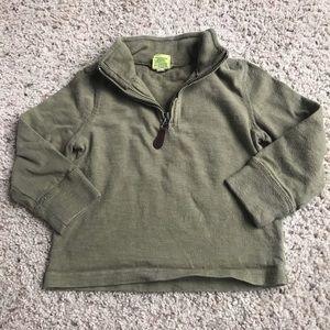 Crewcuts half-zip sweater 2T